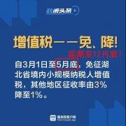官宣!全国小规模增值税3%降至1%延期至12月31日!